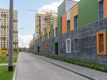 Территория детского сада в жилом комплексе Новое Медведково